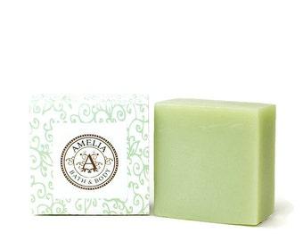 Bella Blossom Soap | Floral Soap, Premium Shea Butter Soap, Feminine Soap, Facial Soap | Bella Blossom Shea Butter Soap in Large Size