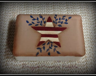 Americana Star Soap Bar Bath Home Decor Decoration