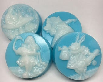 Alice in Wonderland Cameo Soap Set (You Choose the Scent and Color!)