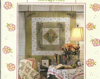 Quilt Book | Fancy Things  | Cabbage Rose | Barbara Brandeburg | Applique Pattern | Patchwork Pattern | Quilting Patterns