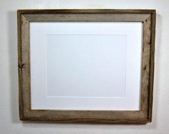 16x20 wood poster frame with mat for 11x17 ,12x18,11x14 or 12x16 ready to ship