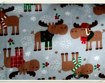 New CHRISTMAS MOOSE Christmas Pajama/Lounge Pants  Available in sizes 0-3 to size 5T