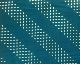 Cotton + Steel Basics Dottie Night Owl Metallic 100% Cotton Fabric