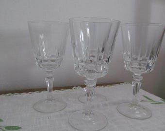 Lady Victoria Goblets Set of 4 Chantelle Pattern