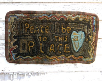 To This PLace - Rug Hooking DIGITAL Pattern - from Notforgotten Farm™