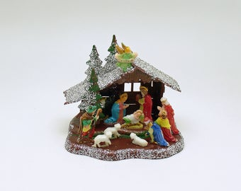 Vintage Christmas Nativity Christmas Decoration