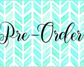 Pre-Order Reserved Listing for D.