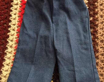 Vintage 70s Jeans bellbottoms Health-Tex unisex baby size 6 months