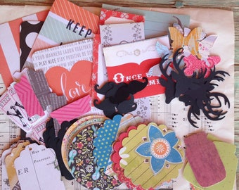 Mish Mash Grab Bag- Papery Goodness Sampler, Planners, Card Making, Art Journaling, Mixed Media, Snail Mail, Happy Mail