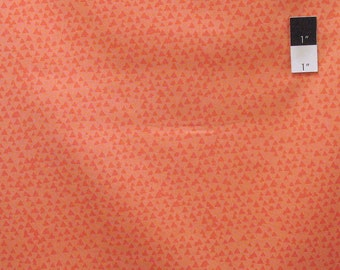 Timeless Treasures C3776 Fun Tonal Triangles Melon Quilting Fabric By Yard