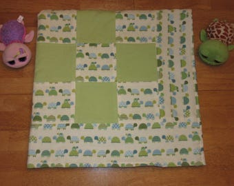 patchwork quilts_patchwork blankets_turtles