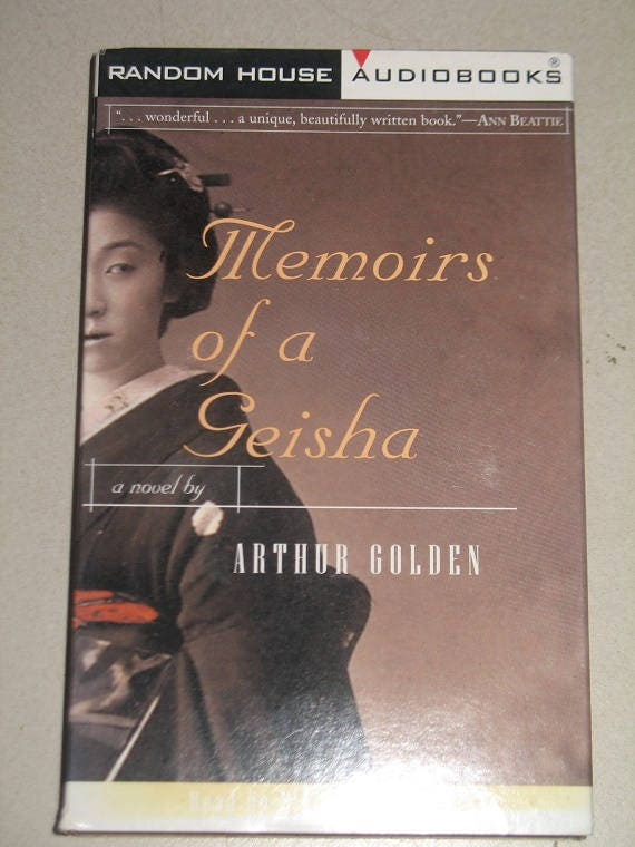 a review of arthur goldens memoirs of a geisha Imagine a world where love is unheard of, where looks are essential, and prostitution is encouraged arthur golden writes this chilling tale in memoirs of a geisha.