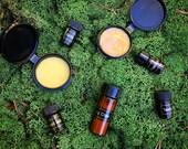 Customized Sample Kit ~ Botanical Skincare Delights // Choose Five Samples // Mix & Match Sample Kit by Morning Glory Teahouse