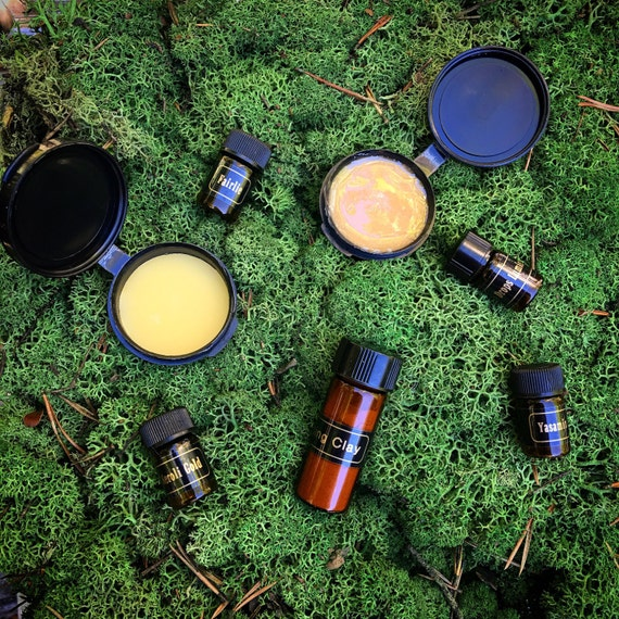 Customized Sample Kit ~ Botanical Skincare Delights // Choose Five Samples // Mix & Match Sample Kit by Morning Glory Teahouse