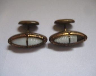 Victorian Cufflinks to Replace a Missing One or Repair