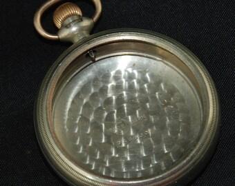 Beautiful Vintage Antique Steampunk Pocket Watch Body Case X 52