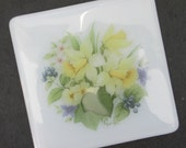 Spring flowers coaster, h...