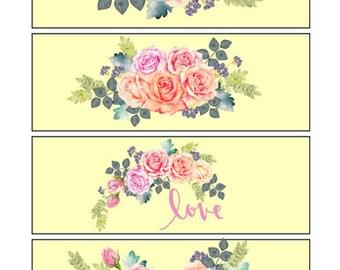 Flower Bookmarks 2