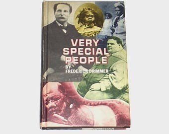 1970s Circus Non-fiction book / history / Very Special People Sideshow Nonfiction Book