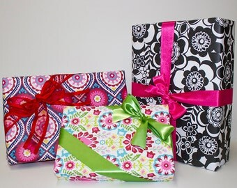 Bright & Bold Gift Wrap Set