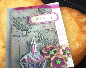 cupcake photo cards, pink birthday postcards, balloons birthday card, anniversary card, birthday card for best friend, birthdaycard for her
