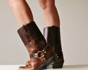 ON SALE Durango Biker Boots >>> Women's Size 10-1/2 (10.5) or Men's Size 9