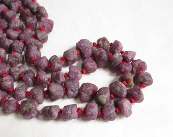 25% Off Sale ALL Pink Tourmaline Raw Nugget Beads, Hammered Nuggets Beads