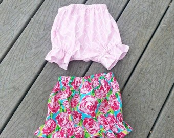 Diaper Cover -  Bloomers - Cake Smashing - Birthday Bloomers - Childrens Boutique - 1st Birthday - Groovy Gurlz