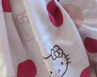 SALE - Hello Kitty Print Cowl/Circle Scarf/Infinity Scarf (5561)