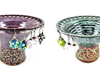 Jewelry holder, Jewelry vase, Earring holder, Earring vase, Earring organizer - In stock