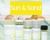 Sun & Sand Perfume, Perfume Spray, Body Spray, Perfume Roll On, Beach Perfume, Perfume Sample Oil, Dry Oil Spray, You Choose the Product