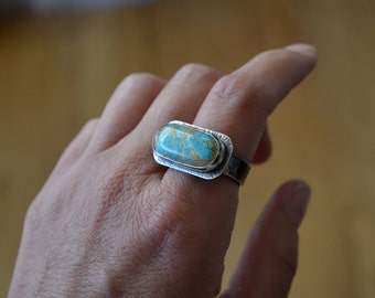 Natural Royston Turquoise Ring