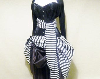 CUSTOM SALE Privateer Pirate Corset Costume -Whole Outfit-Made To Order In Your Size