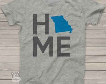 HOME state shirt - Personalize to your own State Shirt - perfect for showing off your roots HSTS