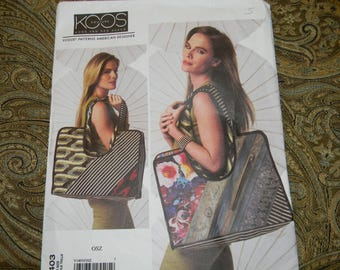 New Vogue Pattern 1403 Large Bag or Tote