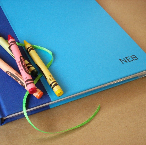 """Gift for Writers & Artists: Custom Blank Notebook · Personalized Journal · Made to Order Diary. Custom Journal. 8.5 x 11"""""""