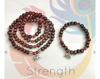 DIY - Make Your Own Mala Beads Kit - STRENGTH