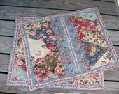 Pair of Quilted Pillow Shams Standard