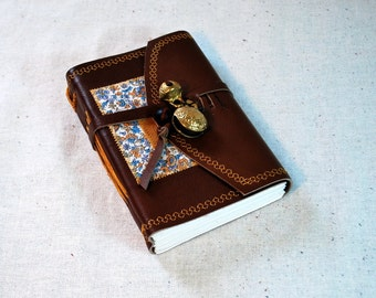 Cheery Leather Bell Journal-Small