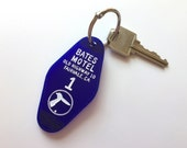 The Bates Motel - Motel Room Key Ring - Alfred itchcock - Keychain - Laser Cut Acrylic