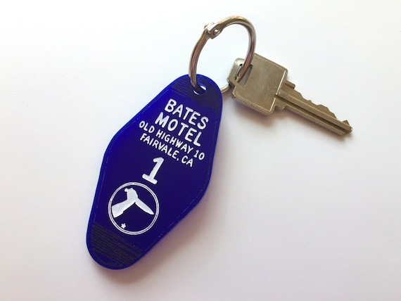 The Bates Motel Motel Room Key Ring Alfred Itchcock