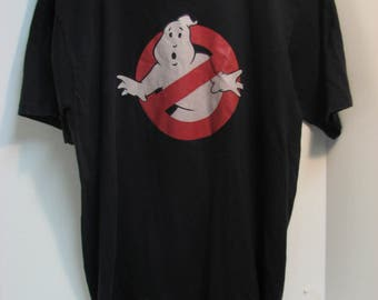 Vintage 1984 Ghostbusters T-Shirt Made in U.S.A. Ghostbusters Movie Shirt Promo