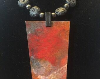 Tiny Cosmos Necklace - 100517