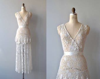 Vintage lace dress | Etsy