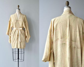 Radiating Points haori jacket | vintage japanese kimono jacket | short kimono jacket