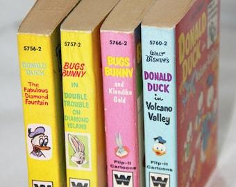 Set of 4 Disney Little Big Books