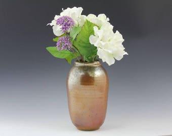 Handmade Ceramic Vase Woodfired pottery