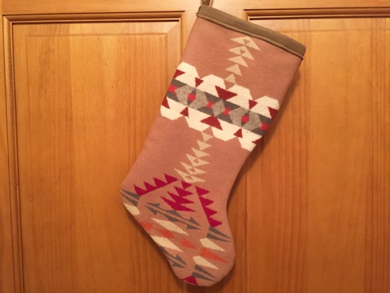 Christmas Stocking XL Salmon Pink