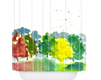 Autumn Days Shower Curtain