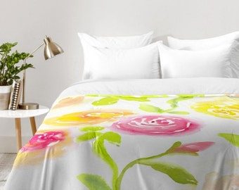 Candy Colored Blooms Comforter